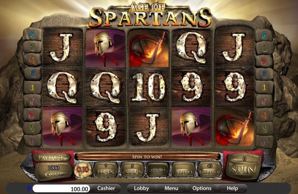 Age of Spartans Casinospiel