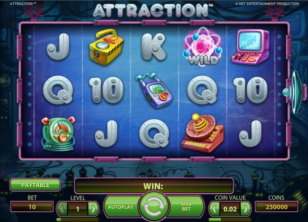 Attraction Casinospiel