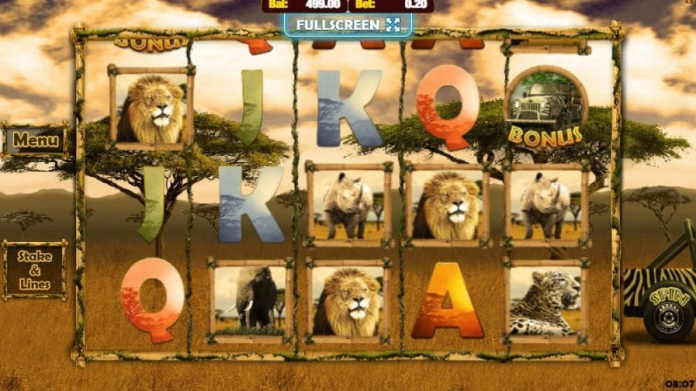 Big 5 Safari Spielautomat