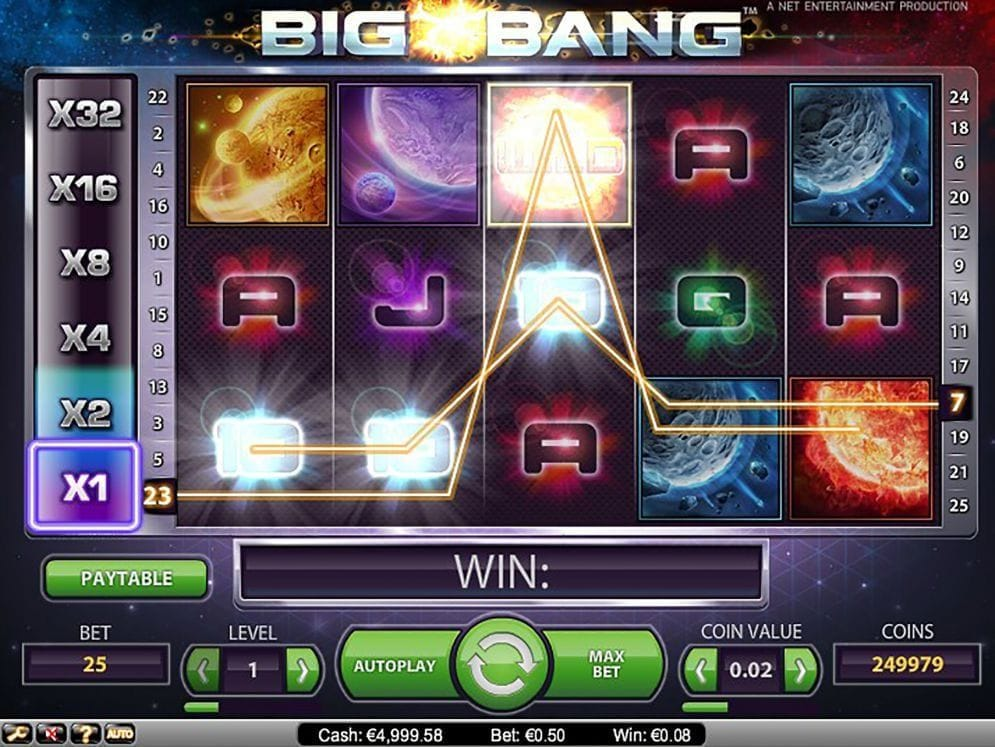 Big Bang Spielautomat