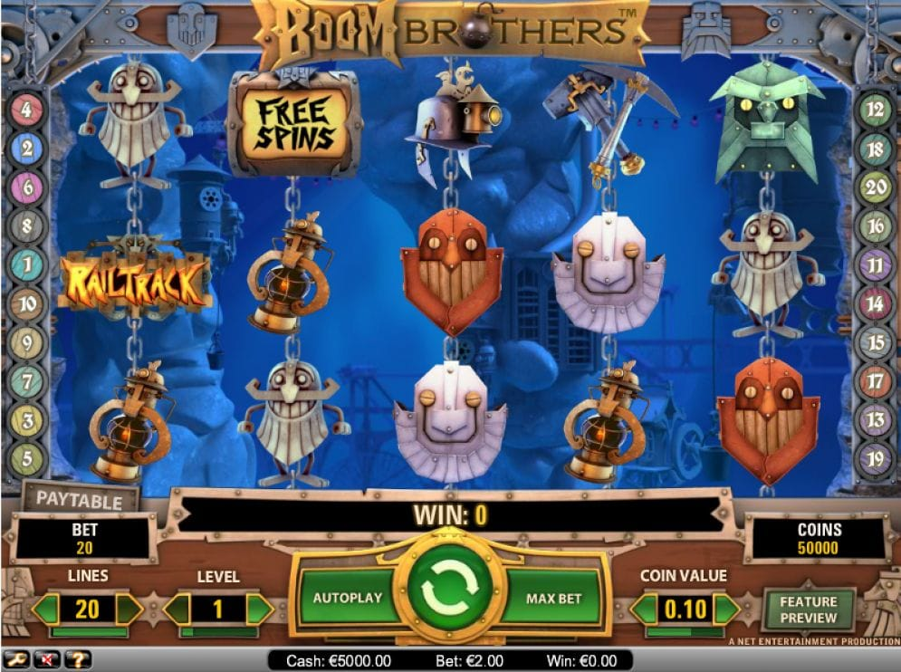 Boom Brothers Casinospiel