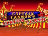 Captain Cannon's Circus of Cash Spielautomat