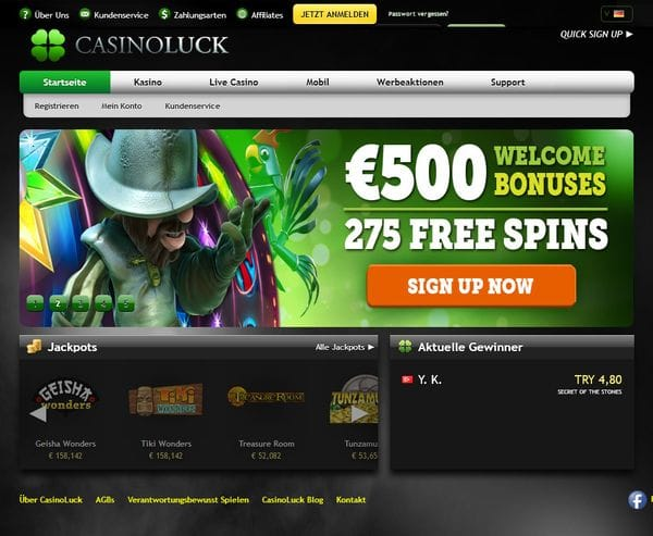 Casino Luck im Test