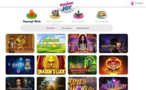 Casino Joy im Test