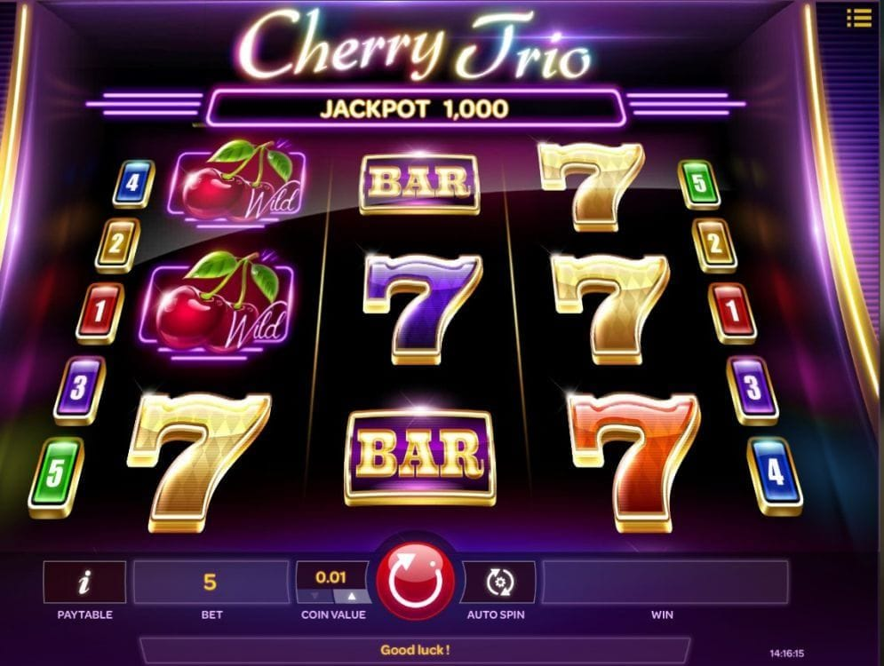 Cherry Trio online Video Slot