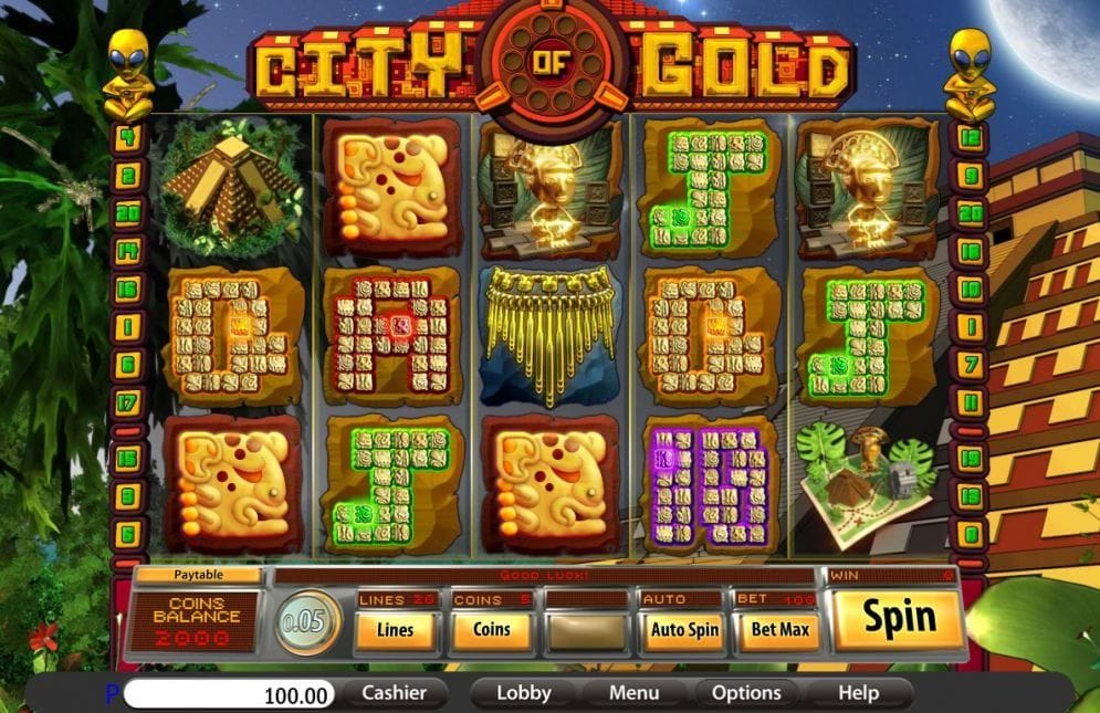 City of Gold Video Slot