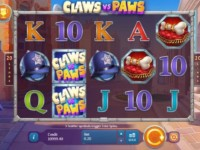 Claws vs Paws Spielautomat