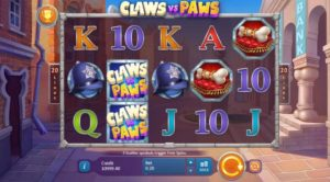 Claws vs Paws Spielautomat kostenlos