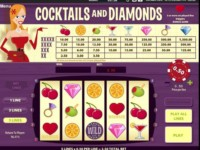 Cocktails and Diamonds Spielautomat