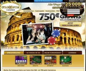 Colosseum Casino im Test