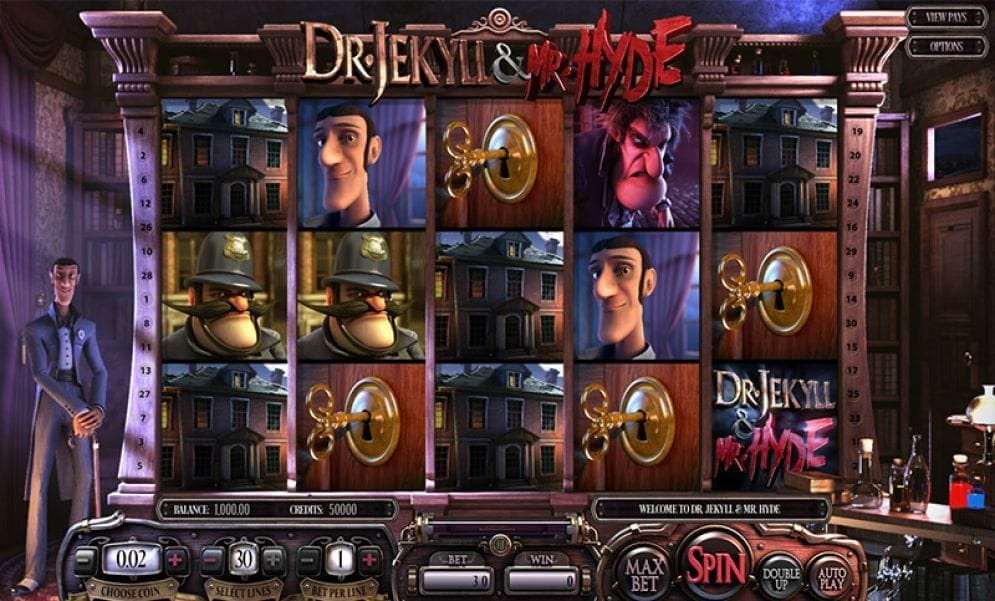 Dr Jekyll and Mr Hyde Casino Spiel