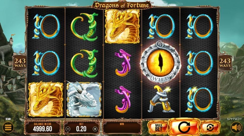 Dragons of Fortune Spielautomat