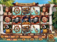 Exploding Pirates Spielautomat