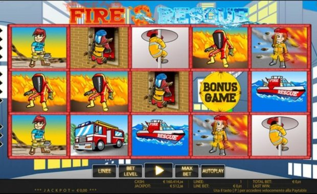 Fire And Rescue Video Slot freispiel