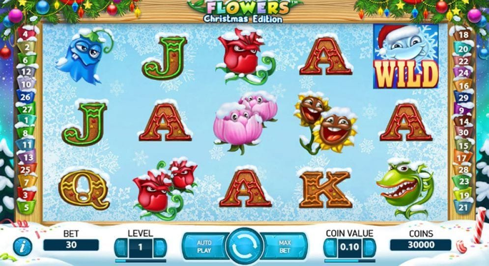 Flowers Christmas Edition Casino Spiel