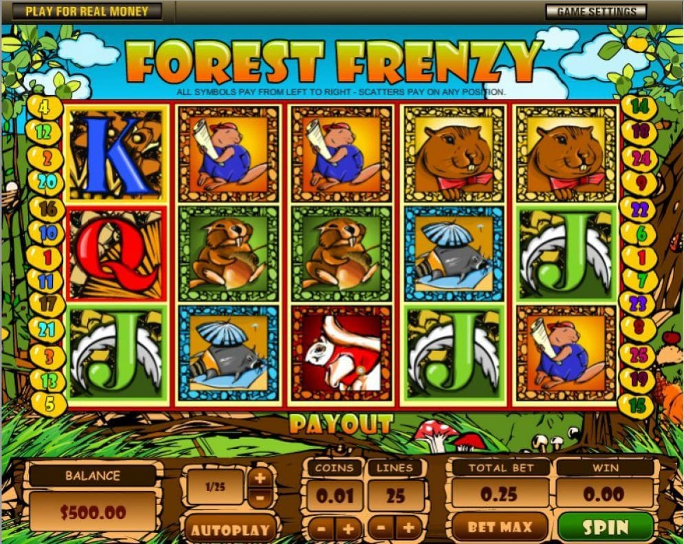 Forest Frenzy Casino Spiel