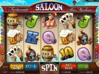 Fortunate Saloon Spielautomat