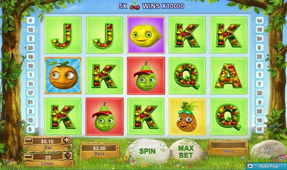 Fruity Friends Video Slot