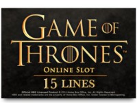 Game of Thrones 15 Lines Spielautomat