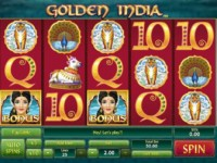 Golden India Spielautomat