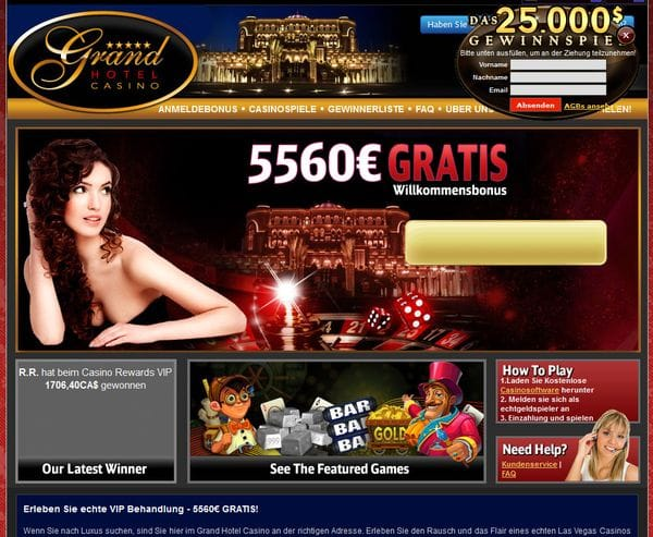 Grand Hotel Casino im Test