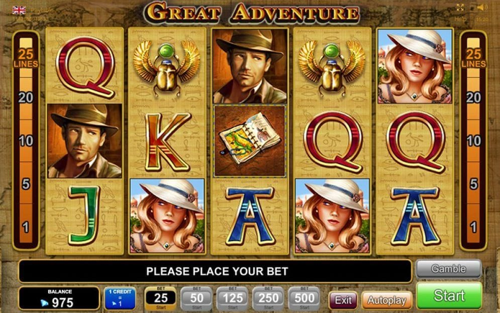 Great Adventure online Automatenspiel
