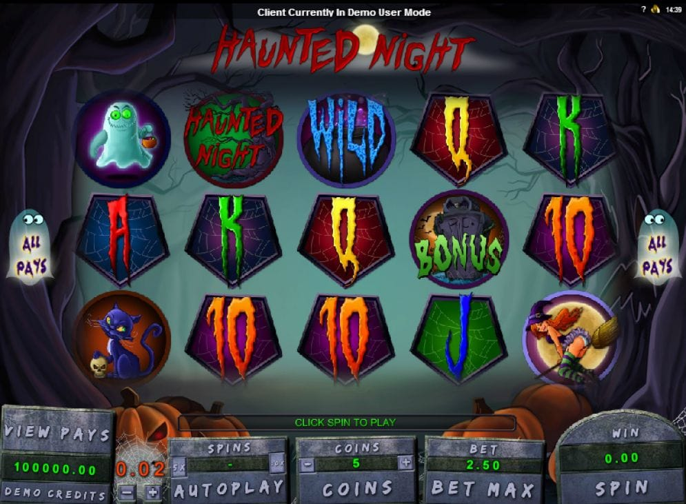 Haunted Night online Automatenspiel