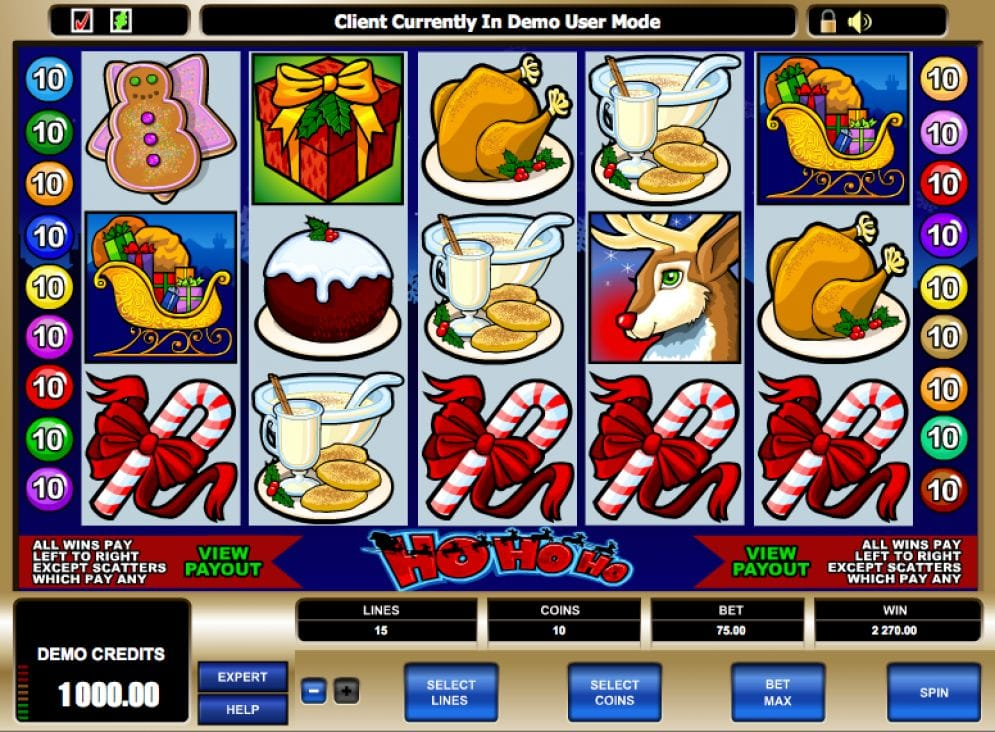 Ho Ho Ho Video Slot