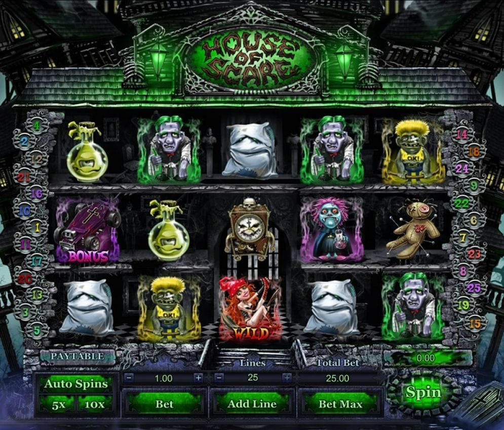 House of Scare Video Slot ohne Anmeldung