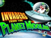Invaders from the Planet Moolah Spielautomat