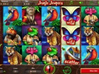 Jungle Jumpers Spielautomat