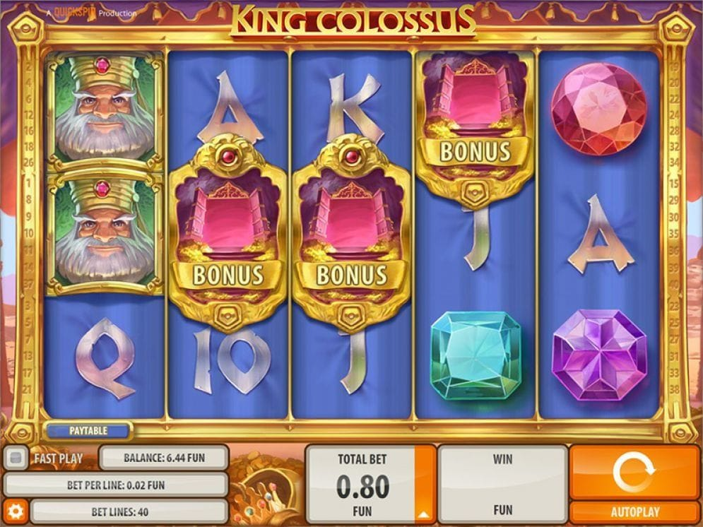 King Colossus online Automatenspiel