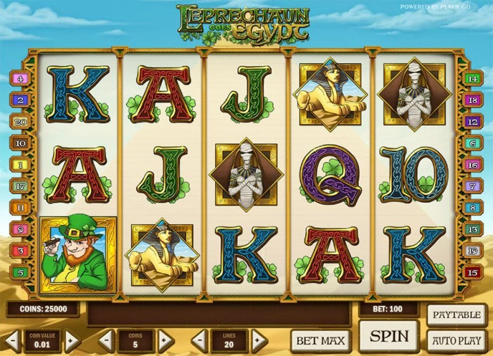Leprechaun goes Egypt Casino Spiel