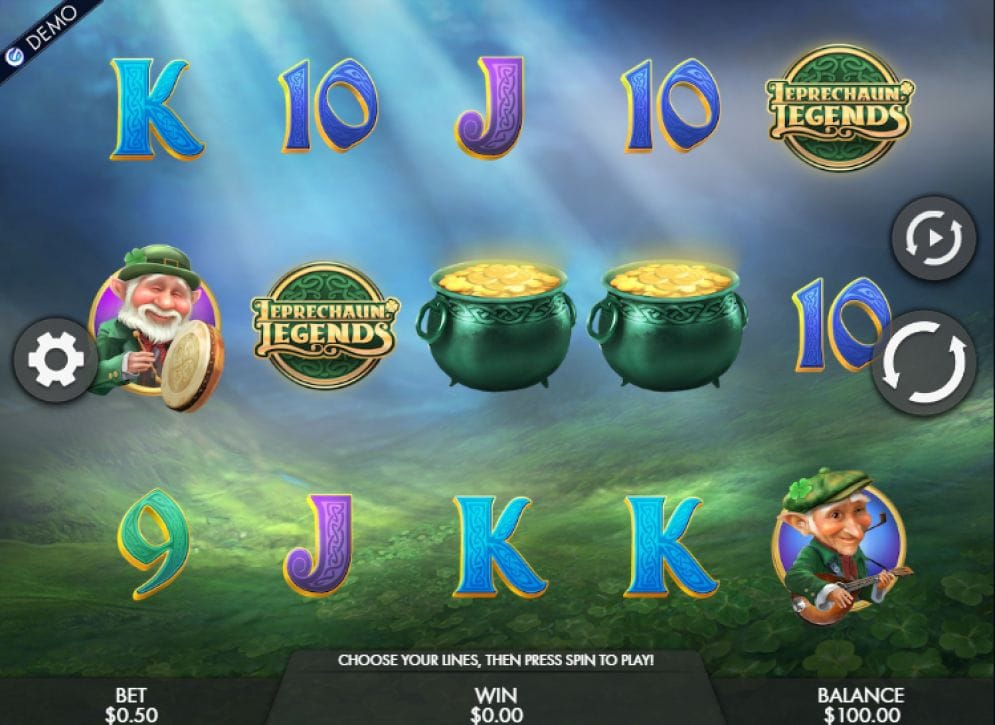 Leprechaun Legends Spielautomat