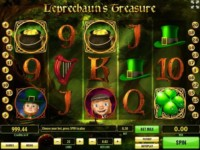 Leprechaun's Treasure Spielautomat