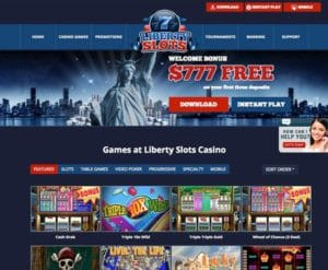 Liberty Slots Casino im Test