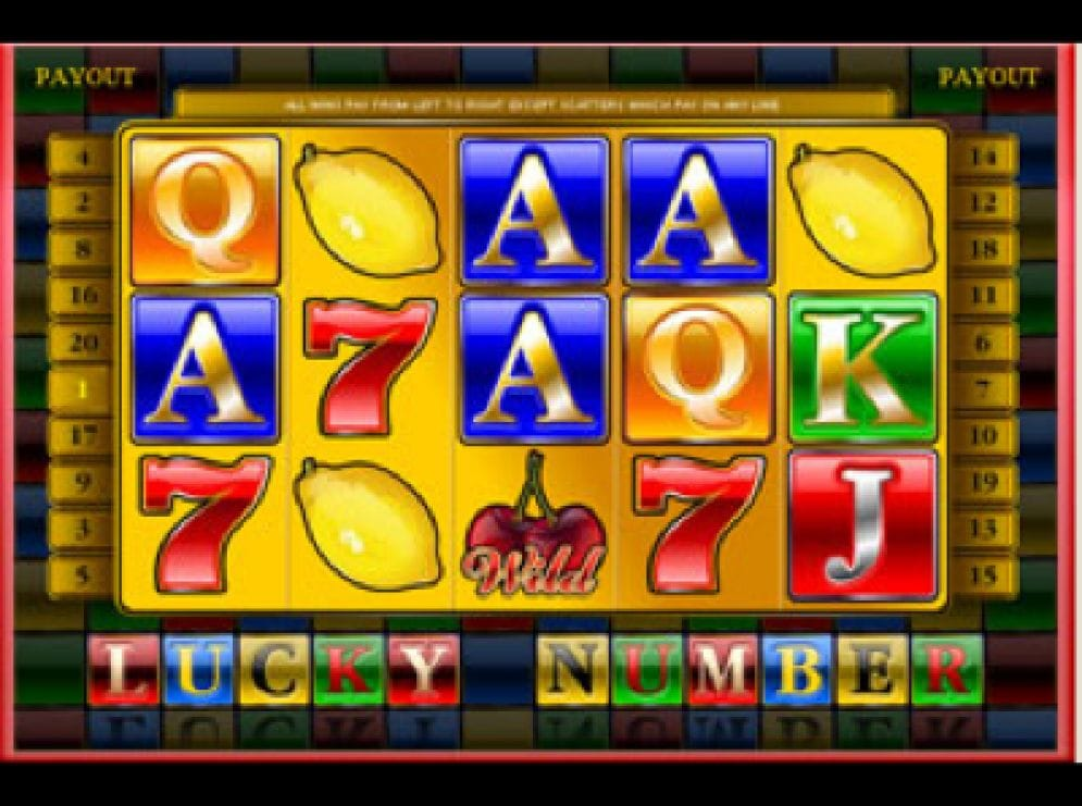 Lucky Number online Video Slot