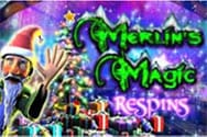 Merlins Magic Respins Christmas Casinospiel kostenlos spielen