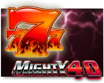 Mighty 40 Video Slot ohne Anmeldung