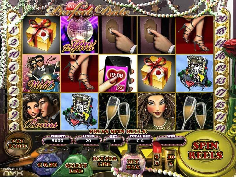 My Perfect Date Video Slot