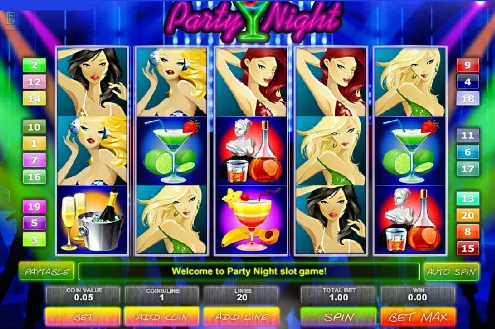 Party Night Slots Spielautomat online spielen
