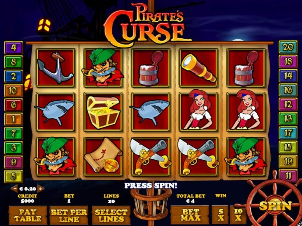 Pirates Curse Videoslot
