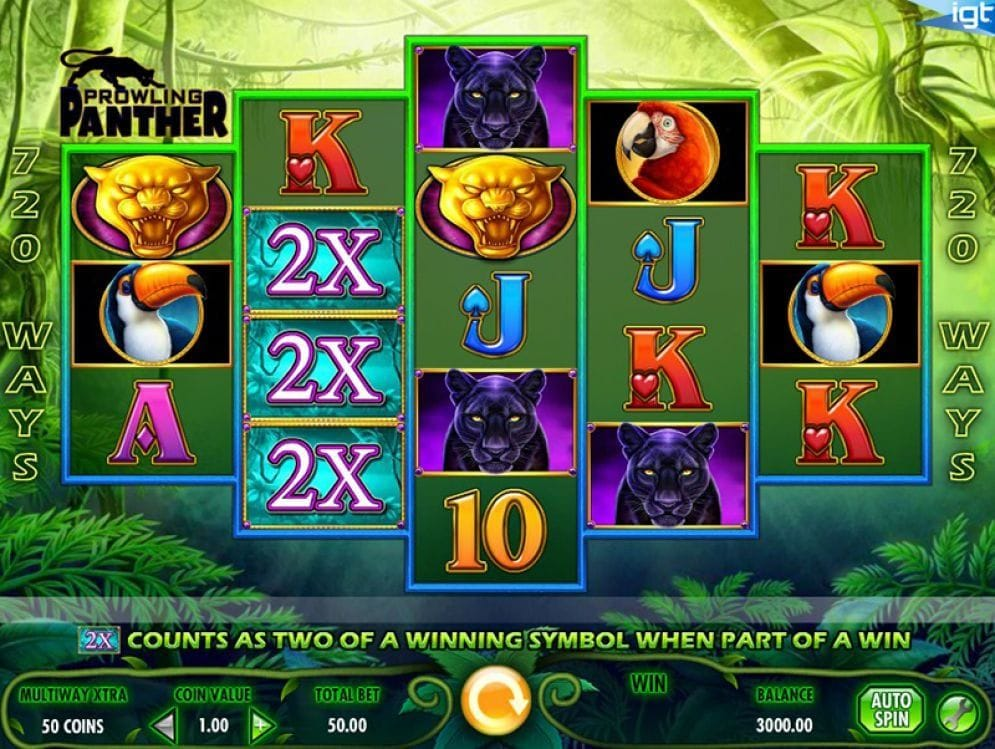 Prowling Panther online Spielautomat