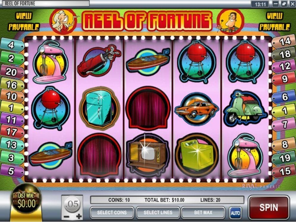 Reel of Fortune Casinospiel