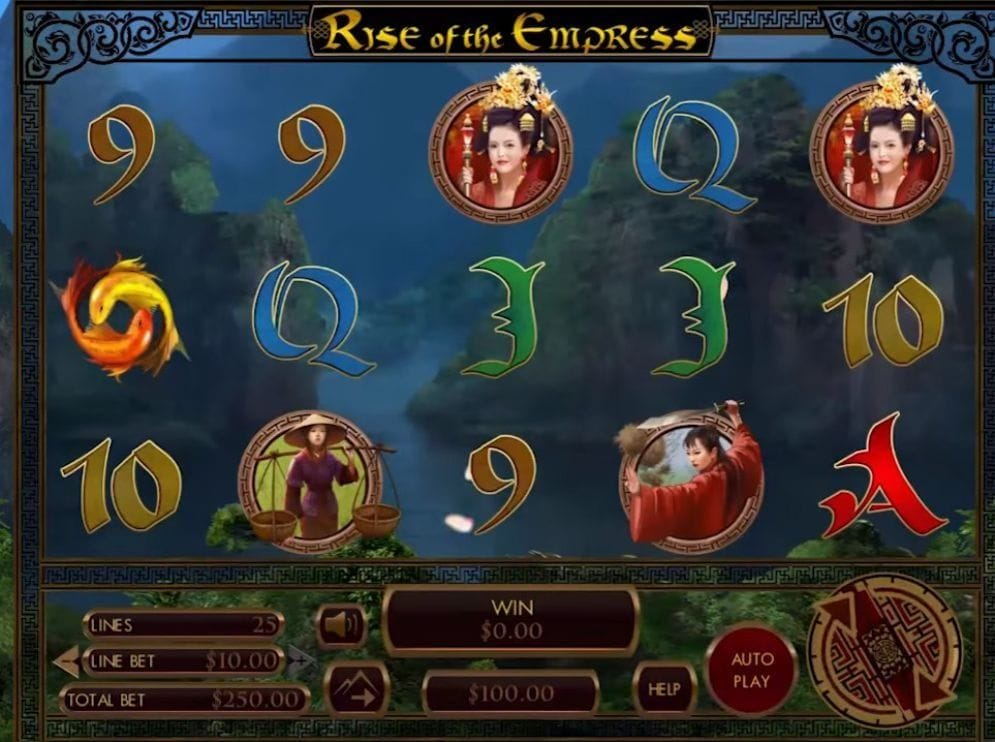 Rise Of The Empress Video Slot
