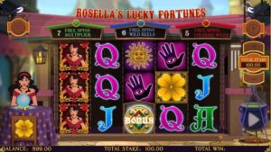 Rosella's Lucky Fortunes Video Slot kostenlos