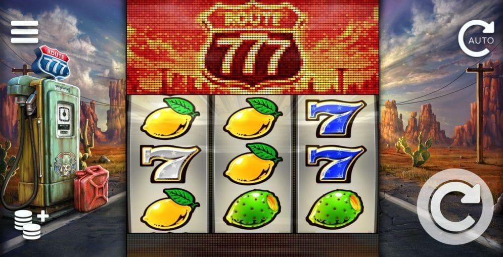 Route 777 online Geldspielautomat