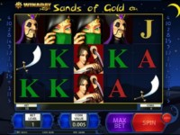 Sands of Gold Spielautomat