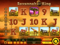 Savannah King Spielautomat