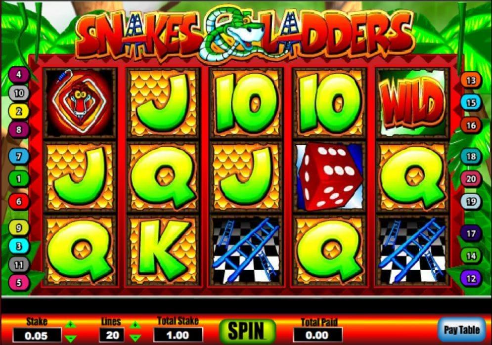 Snakes & Ladders online Geldspielautomat